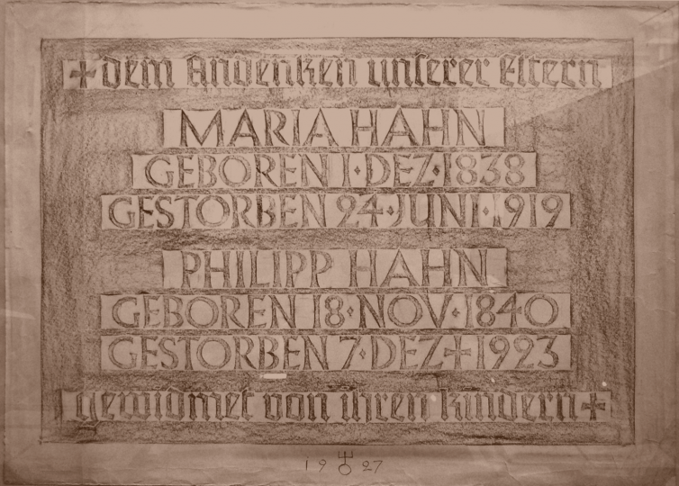 Rubbing from a bronze inscription made by Berthold Wolpe in 1927