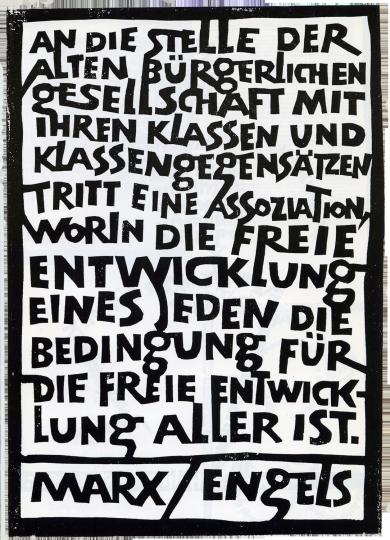 Albert Kapr: Marx-Engels-Worte