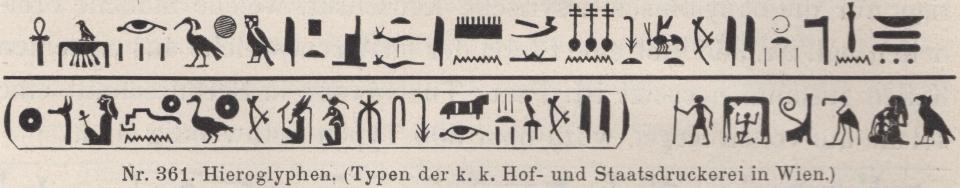 The Imprimerie nationale (?) hieroglyphs