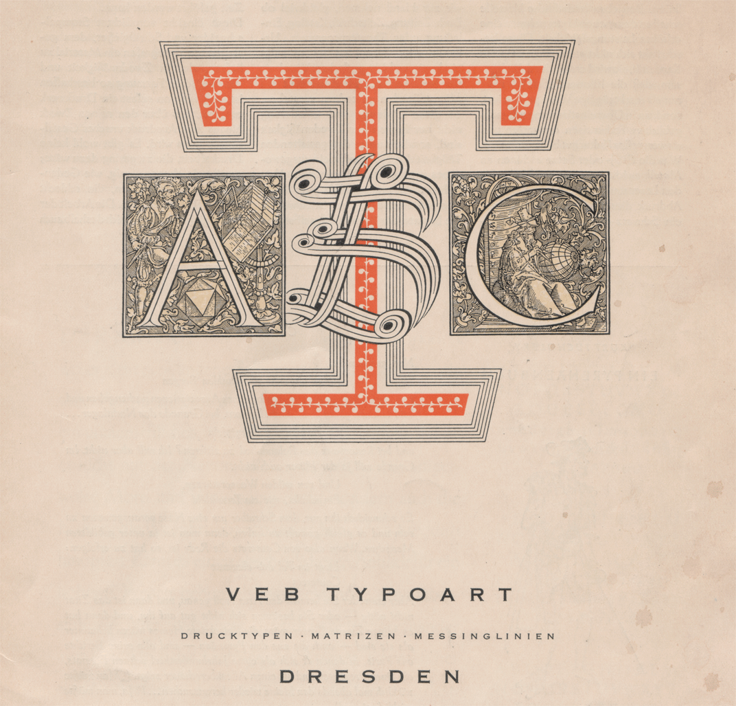VEB Typoart's typefaces, more than 25 years later — Blog ...