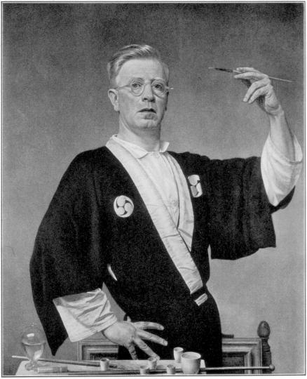 A Victor Hammer self portrait