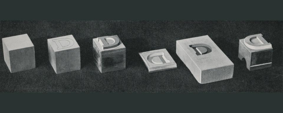 Soft-metal matrix to electrotyped matrix