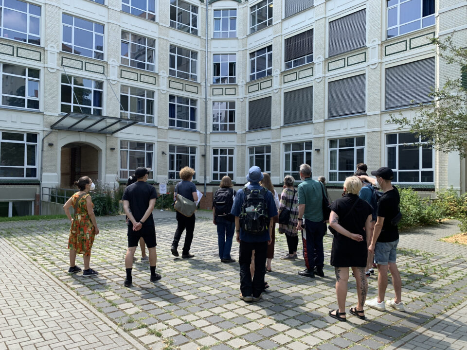 Typefoundry tour at Gneisenaustraße 27