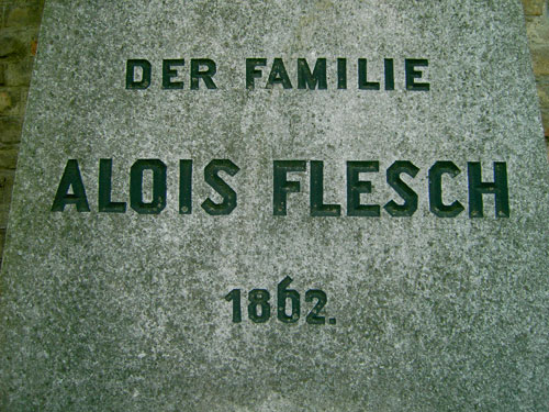 Tombstone in Vienna