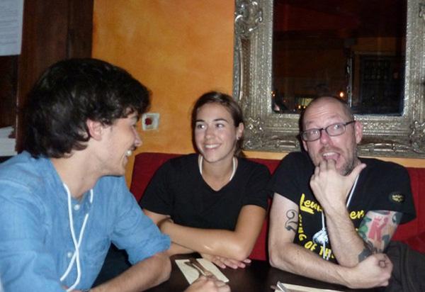 Mathieu, Joke, Sparky
