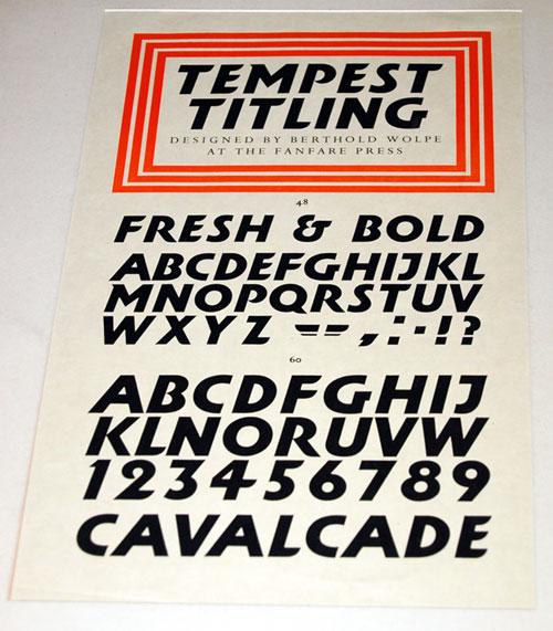 Tempest Titling