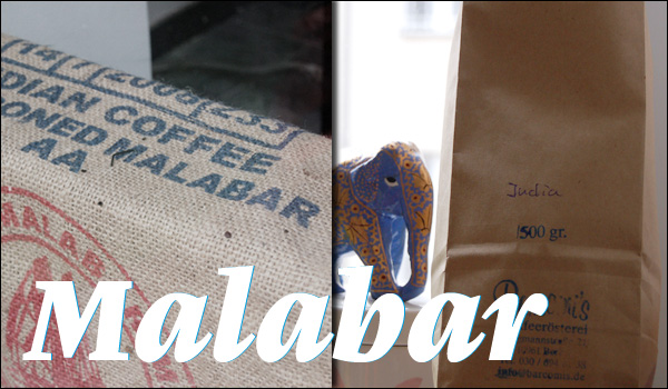 Malabar coffee helped