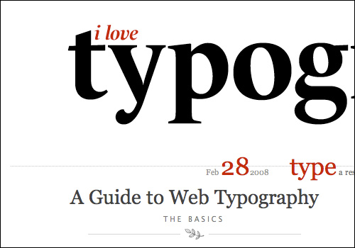 Do you love typography?