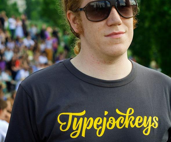 Typejockeys t-shirts
