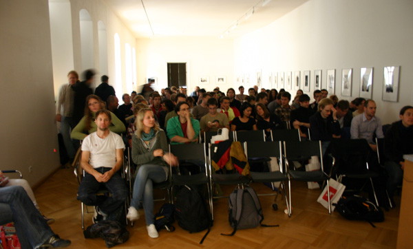 The TypeTalks audience