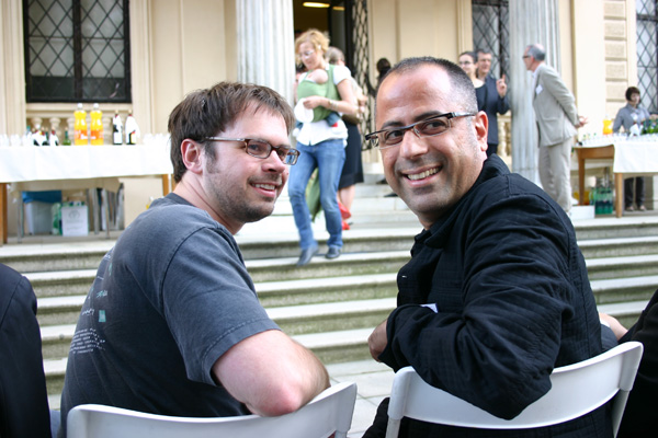Rob Keller and Oded Ezer in Brno