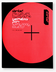 Wrap-around cover of the seventh Slanted issue