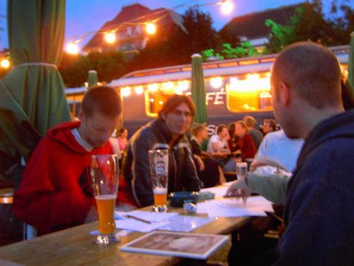 Photo from the June 2004 Typostammtisch